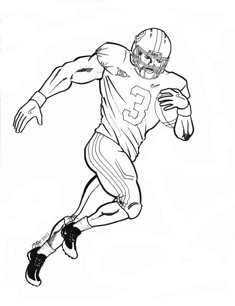 787x1024 Auburn Football Coloring Page Free Download