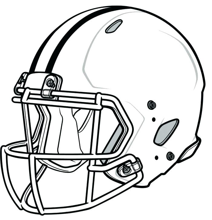 700x727 Free Football Coloring Pages Football Helmet Coloring Pages