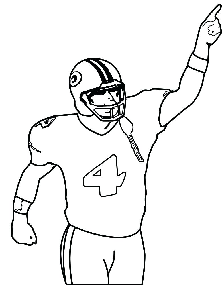 779x1000 Coloring Pictures Of Football Players Football Player Coloring