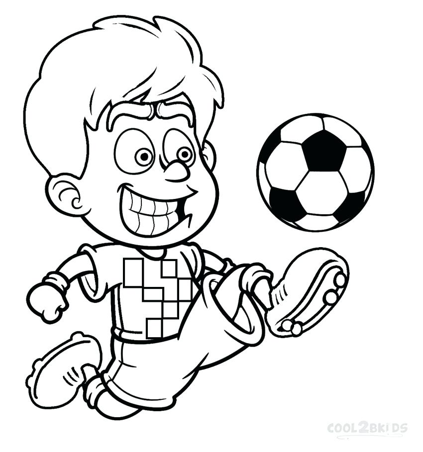 850x909 Kids Coloring Colouring Pages Football Player Number Page Drawing