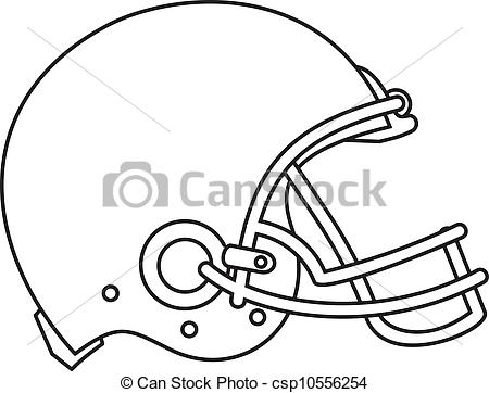 450x362 American Football Helmet Line Drawing. Line Drawing Clipart