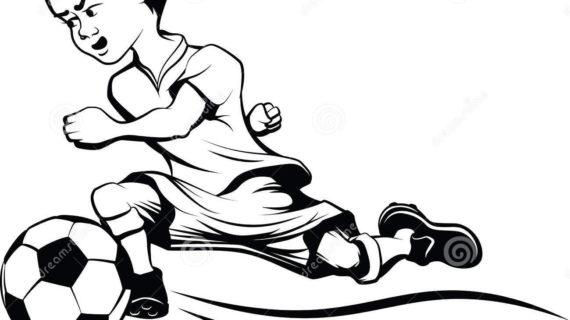 570x320 Cartoon Football Drawings