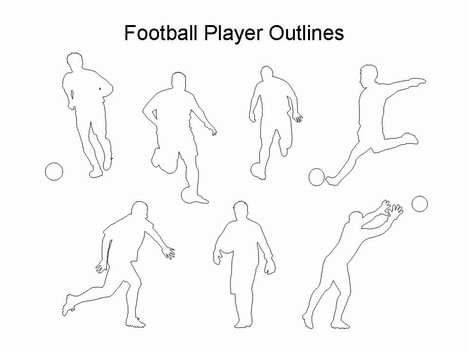 Football Drawing Template At GetDrawings