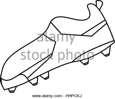 369x320 Hand Drawn (Sketch Style) Soccer Field Or Football Field Corner