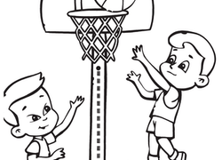 250x180 Sports Coloring Pages Amp Printables