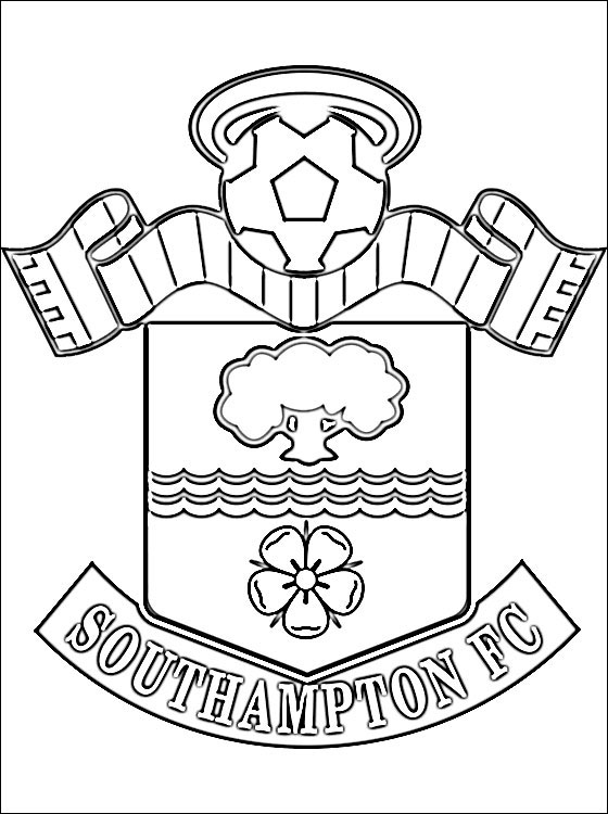560x750 Coloring Page Southampton F.c. Coloring Pages