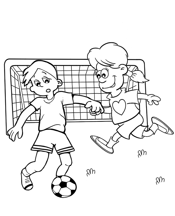 600x740 Football Coloring Page By Topcoloringpages