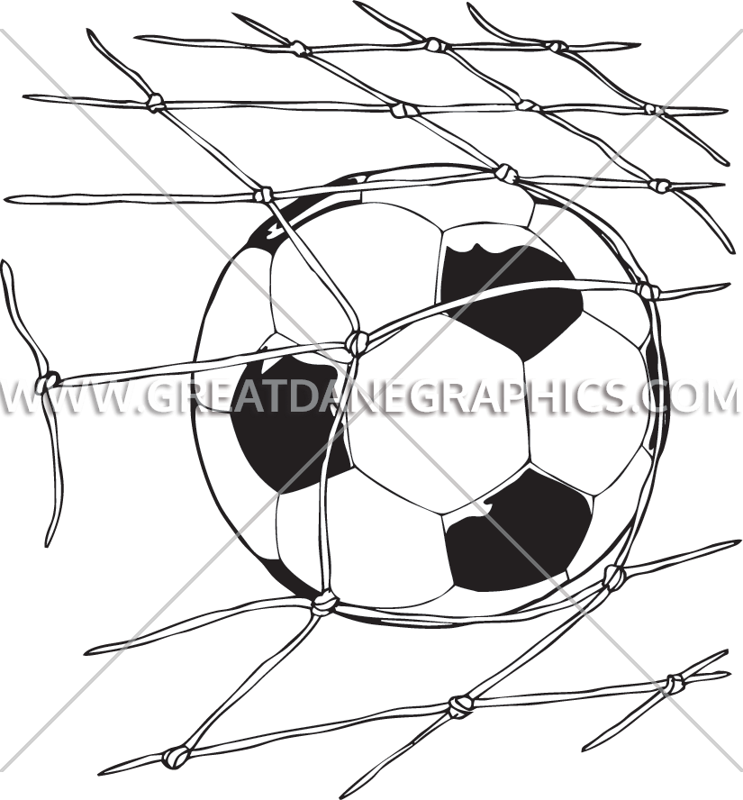 825x888 Soccer Ball Net Production Ready Artwork For T Shirt Printing