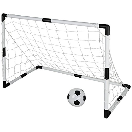 522x522 Portable Soccer Goal Set, Large And Small, Comes