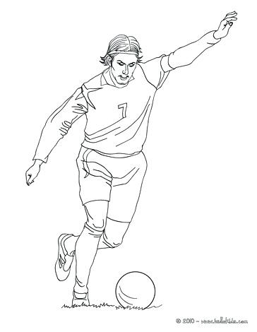 364x470 Football Players Coloring Pages Genesisar.co