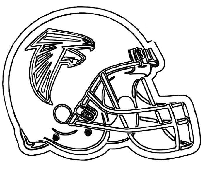 Football Helment Drawing