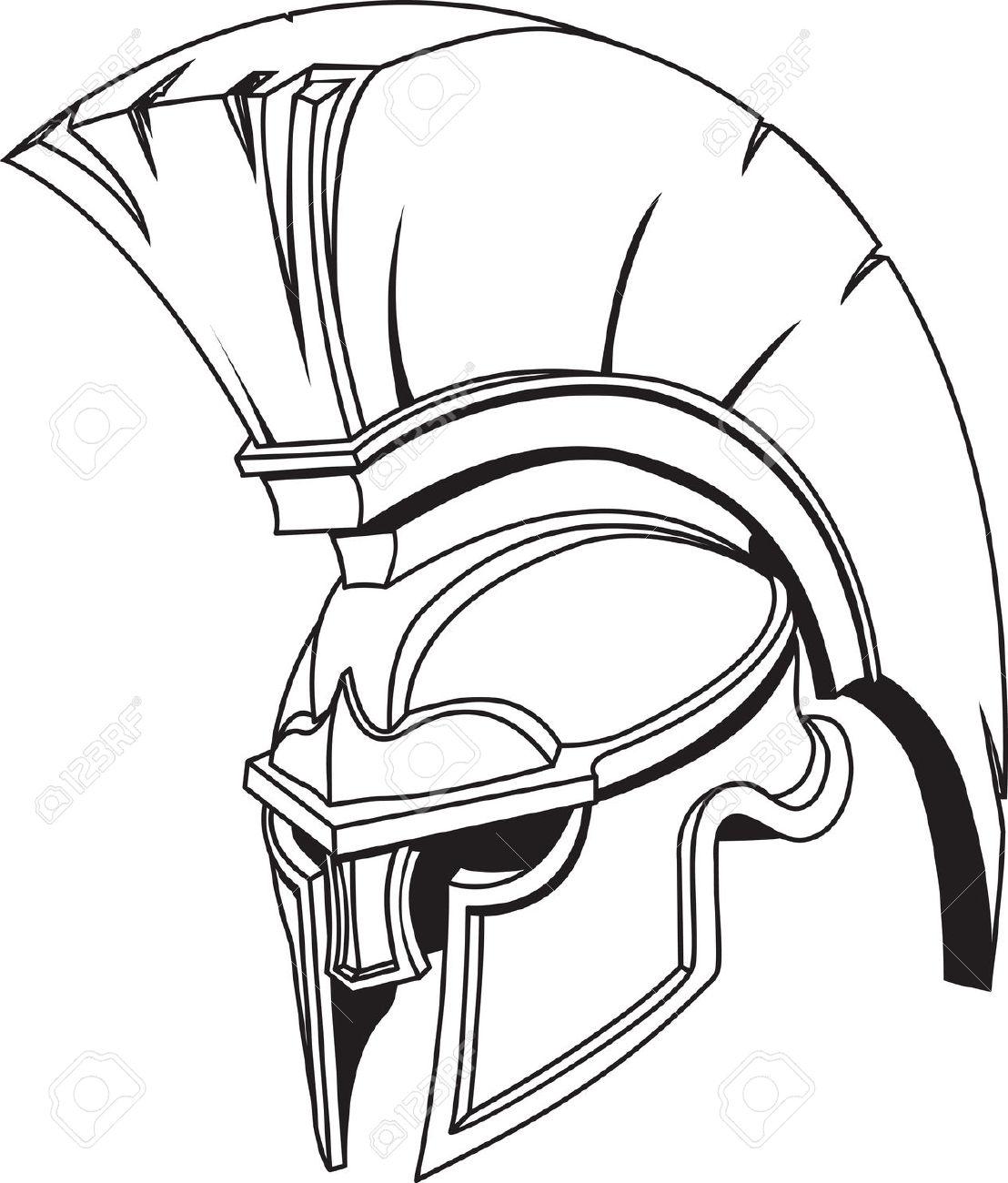 1108x1300 Trojan Clipart Trojan Helmet