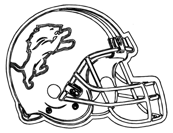 Football Helment Drawing at GetDrawings | Free download
