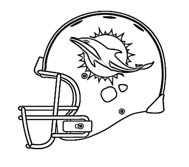 Football Helmet Drawing