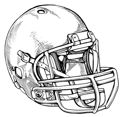 football helmet drawing at getdrawings com free for personal use
