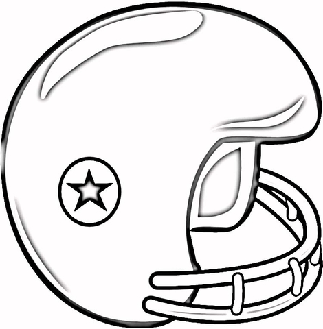 470x480 Football Helmet Coloring Page Free Printable Coloring Pages