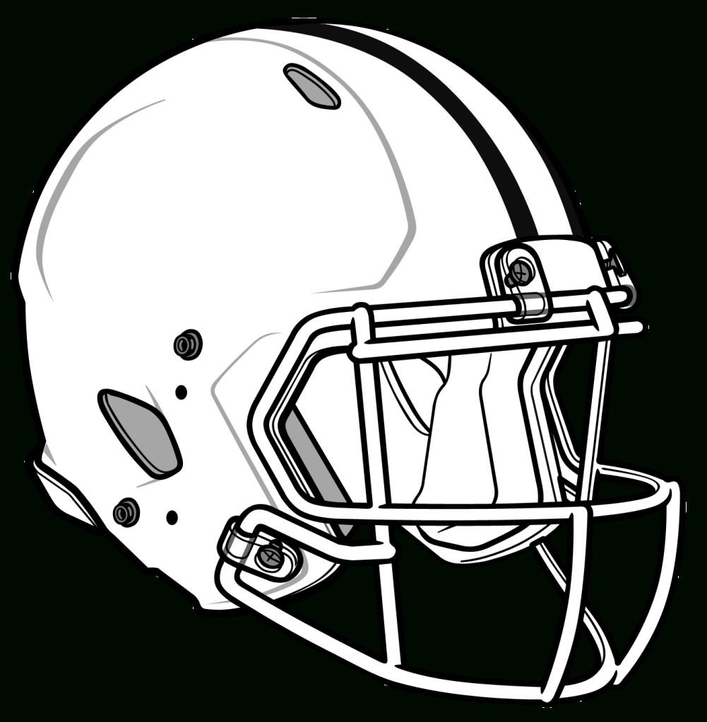 1001x1023 Drawing Of A Helmet How To Draw A Football Helmet