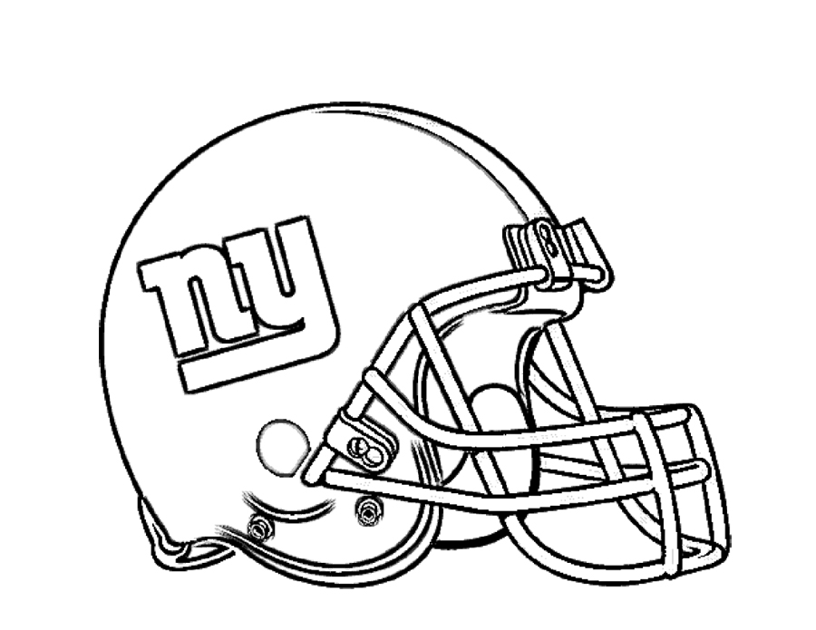 900x695 Football Helmet Coloring Pages New York Giants