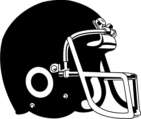 538x451 Football Helmet Drawing Front View Free Clipart 2