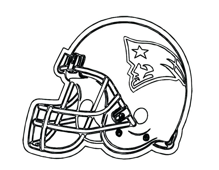 750x580 Nfl Football Helmet Coloring Pages Omnitutor.co