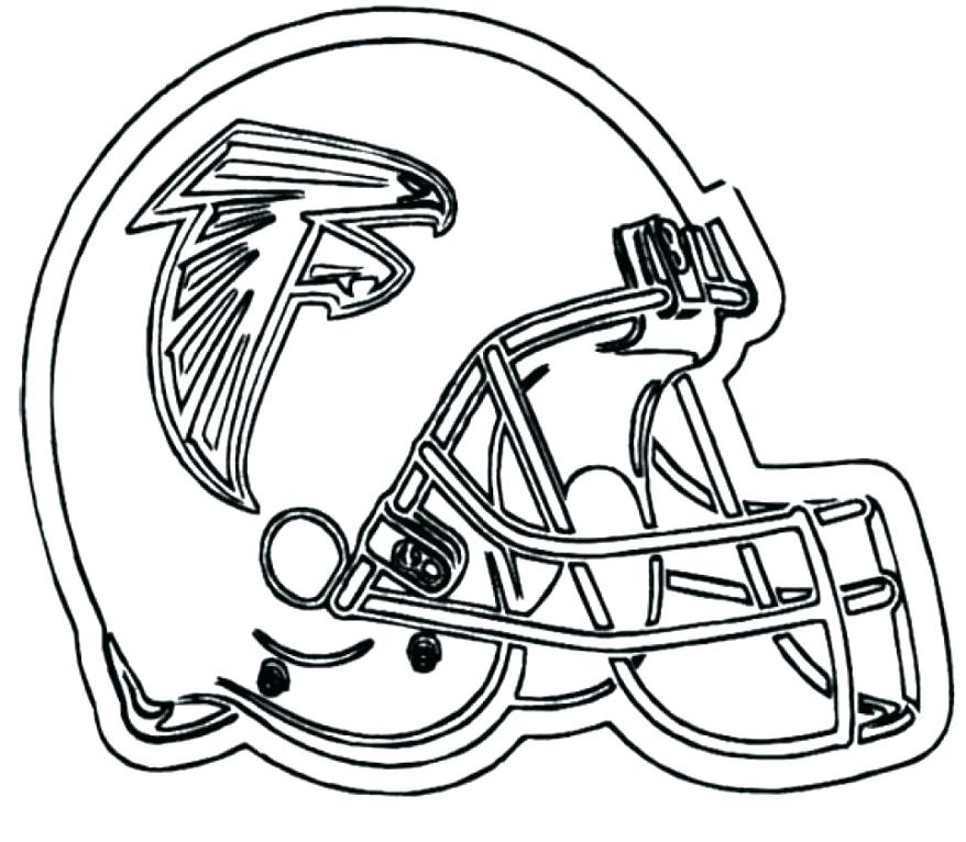 878x766 Denver Broncos Football Helmet Coloring Pages Downloads Page