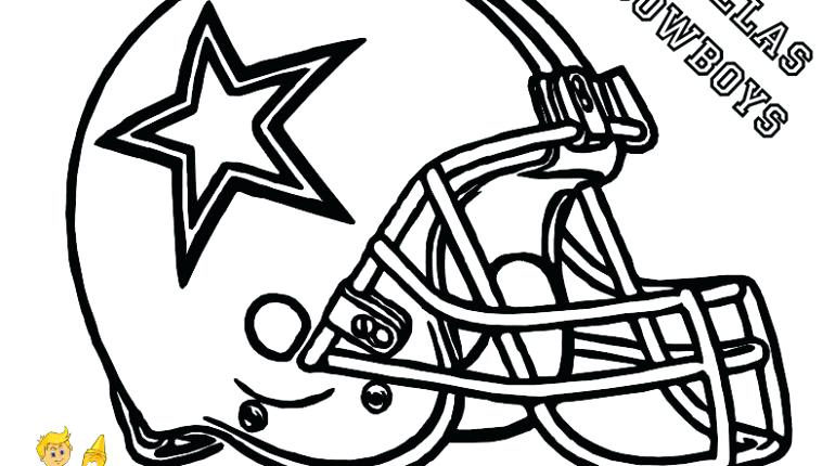 770x430 Dallas Cowboys Coloring Page Free Printable Cowboys Coloring Pages