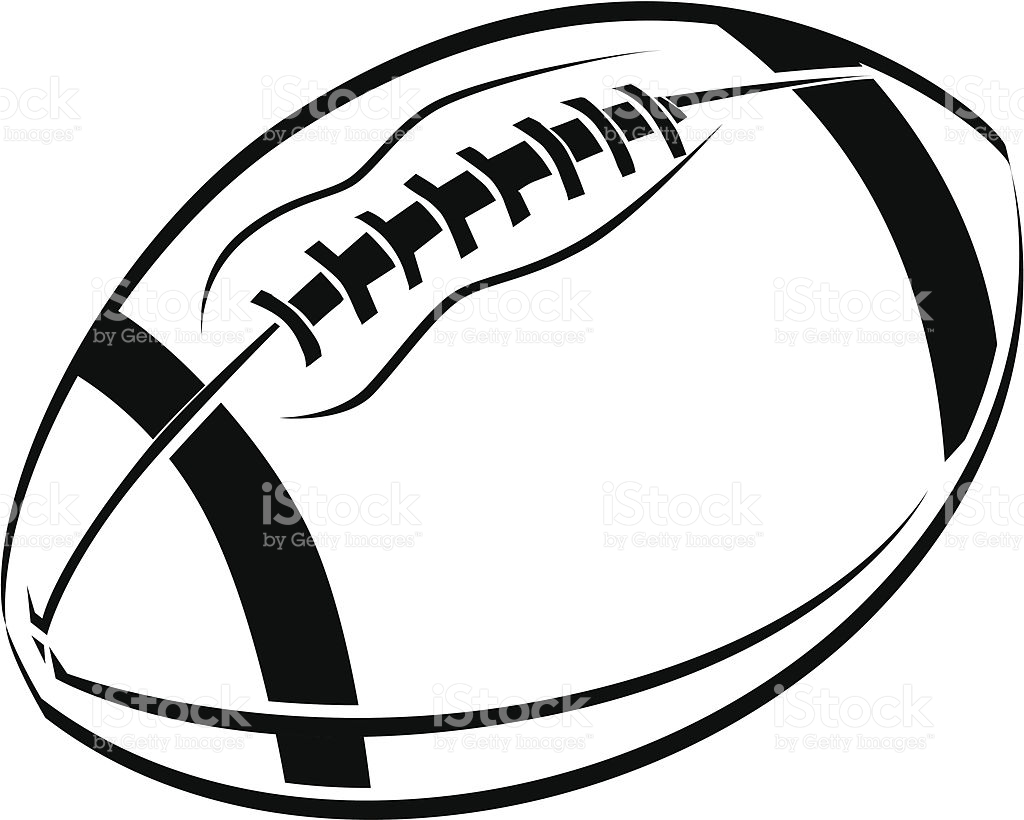 football line drawing at getdrawings com free for personal use rh getdrawings com vector football clip art powder puff football vector art