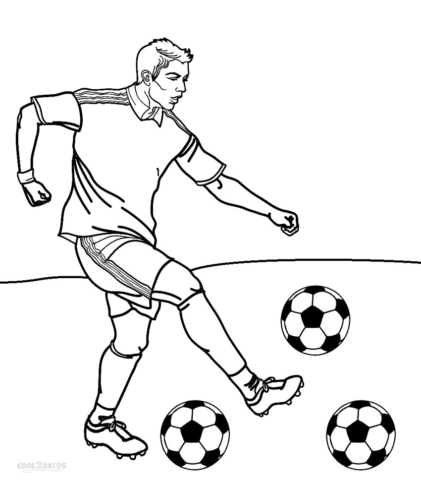 850x978 Football Player Coloring Pages
