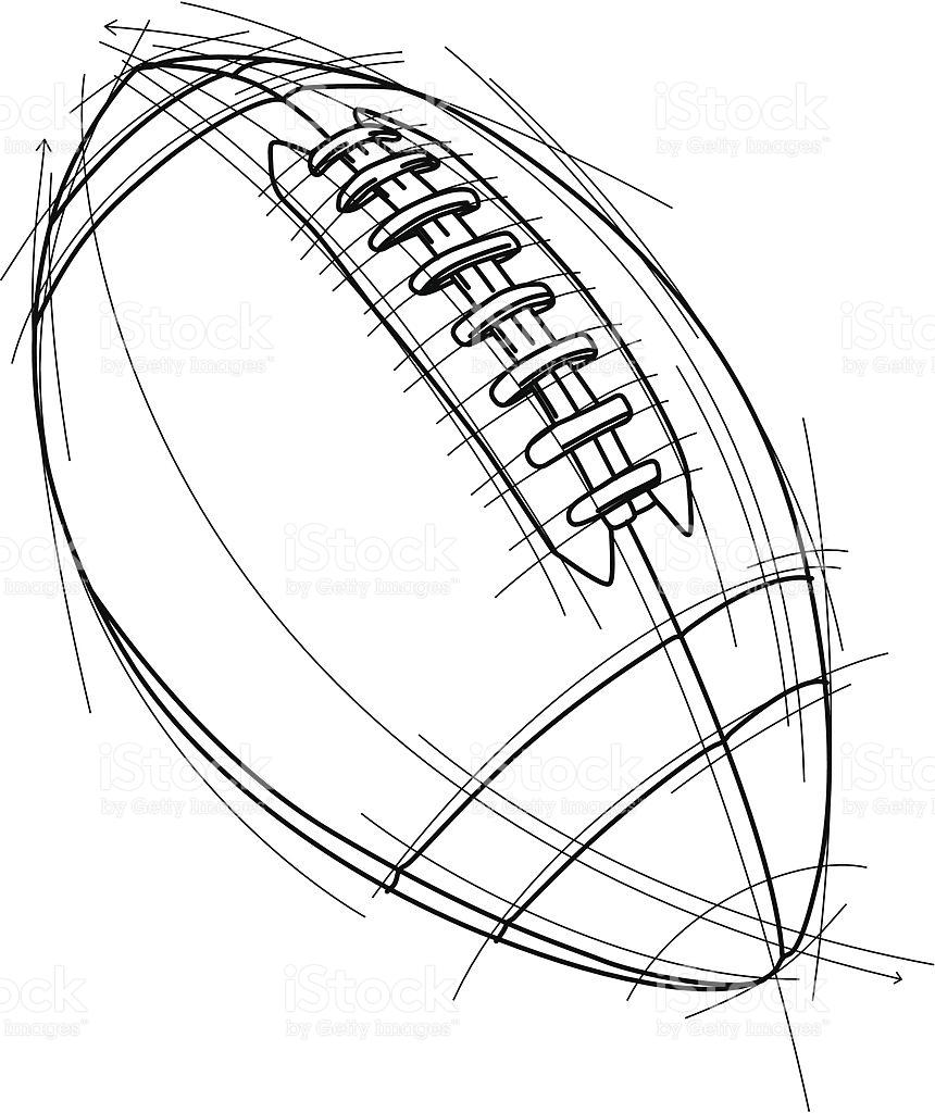 860x1024 Football Vector Art Group