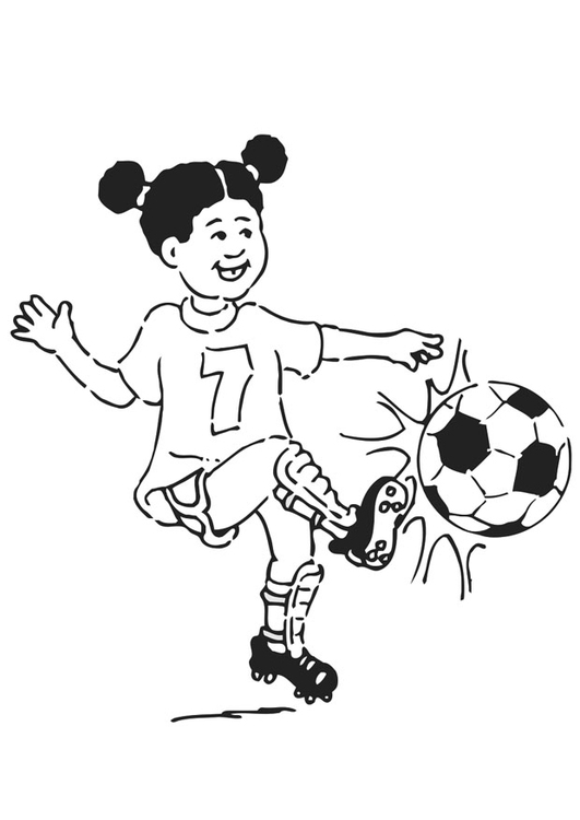 531x750 Coloring Page To Play Football
