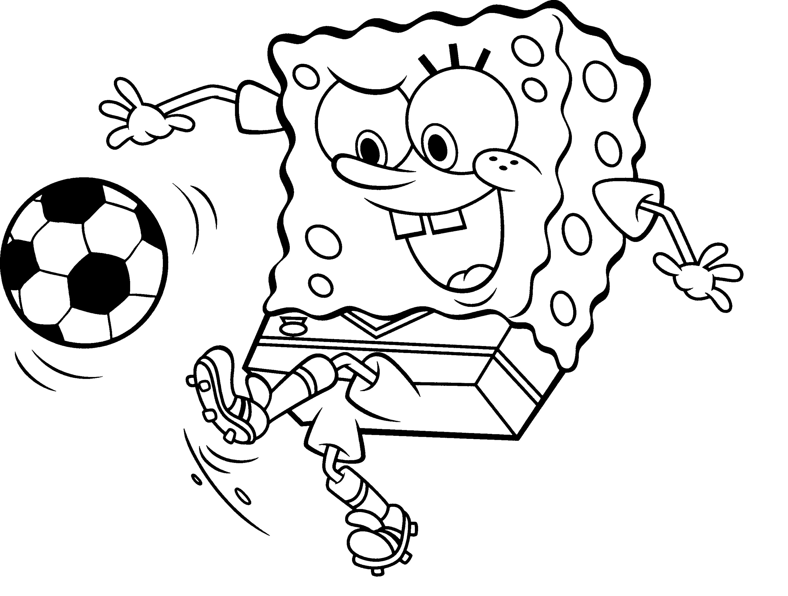 3100x2344 Football Coloring Pages