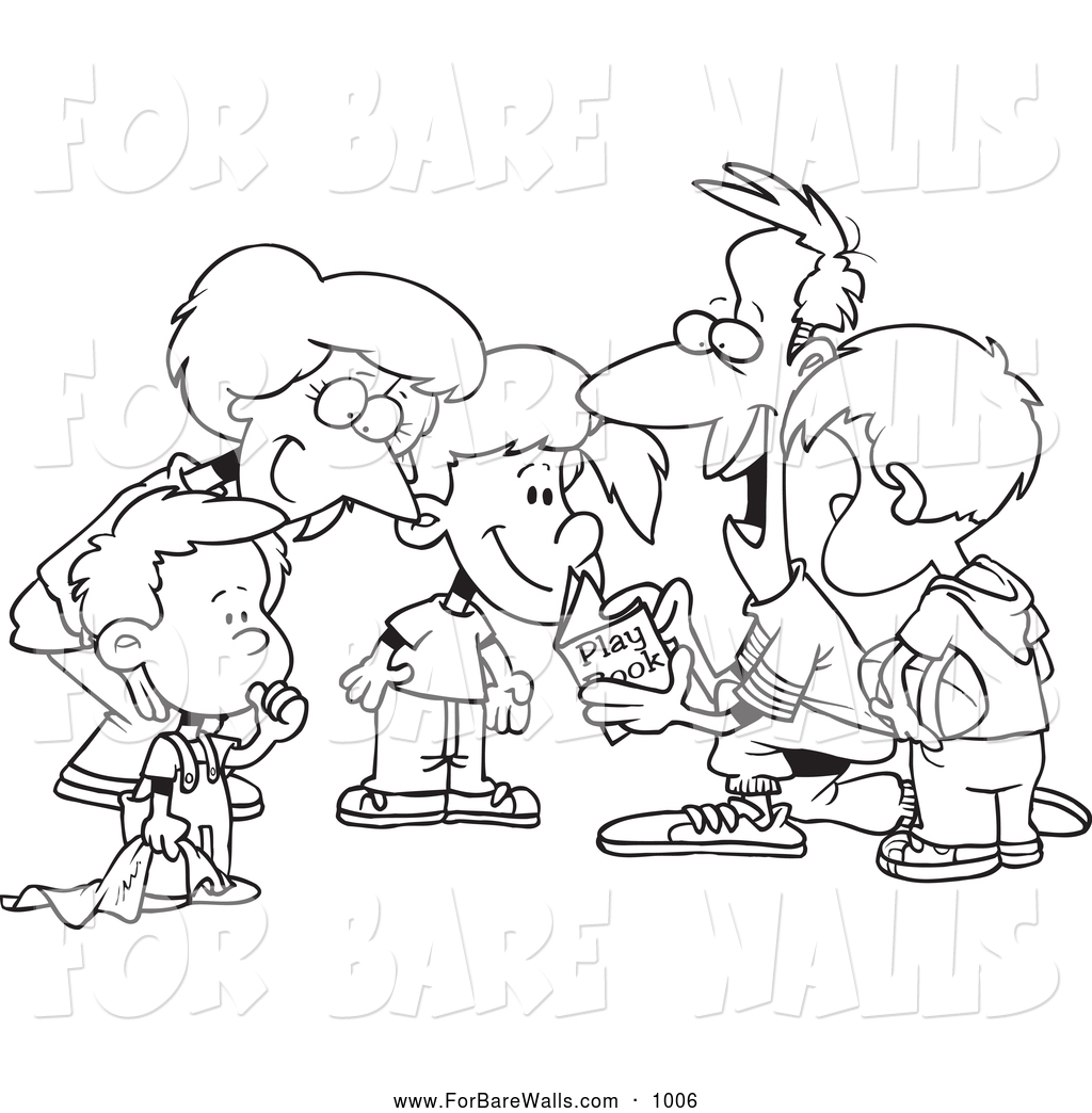 1024x1044 Printable Illustration Of A Coloring Page Of A Huddled Family
