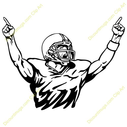 Football Player Drawing