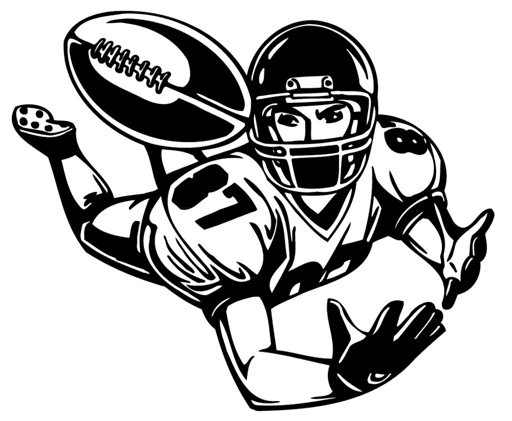 football player line drawing at getdrawings com free for personal rh getdrawings com football player clip art free football player clipart vector