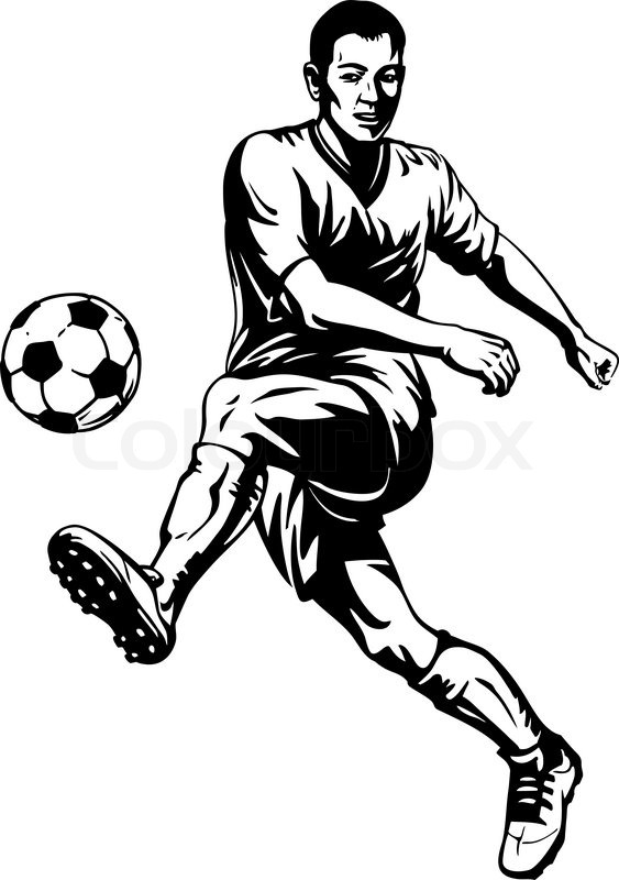 football player line drawing at getdrawings com free for football player clipart kids football player clipart lineman