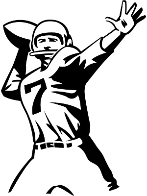 300x400 Player Football Clipart, Explore Pictures