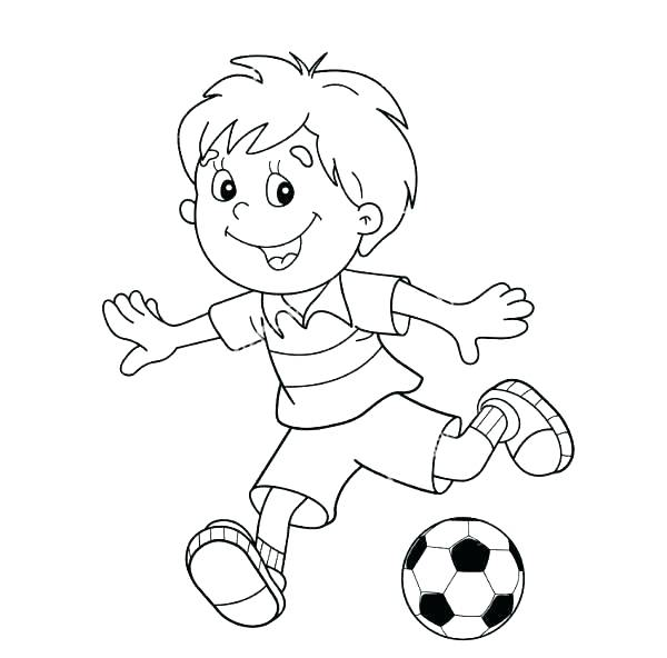 600x592 Football Field Coloring Pages Football Stadium Coloring Page