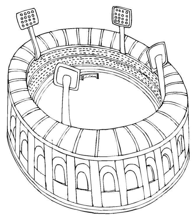 Football Stadium Drawing At Getdrawings Com Free For