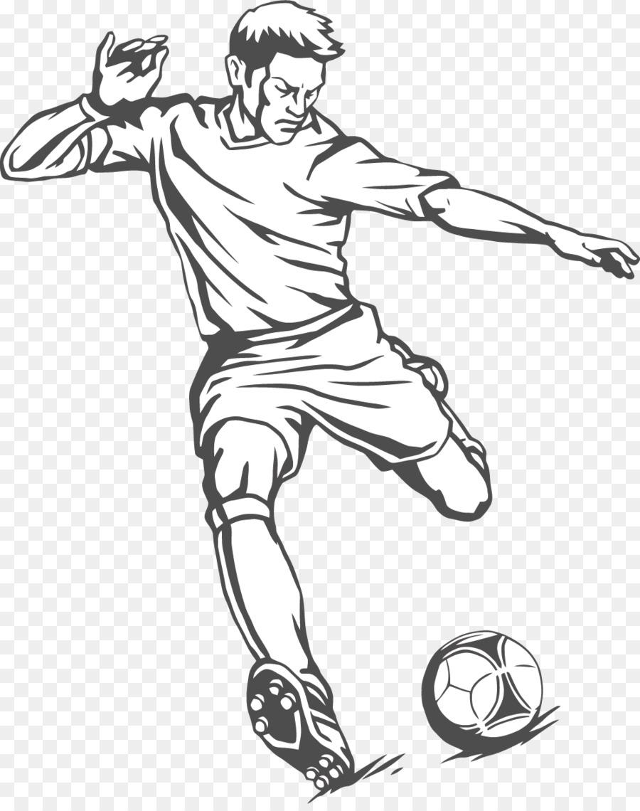 900x1140 Football Player Kick