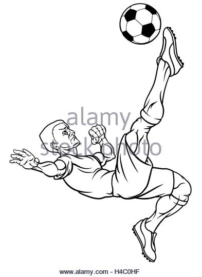 393x540 Footballer Kicking Ball Black And White Stock Photos Amp Images