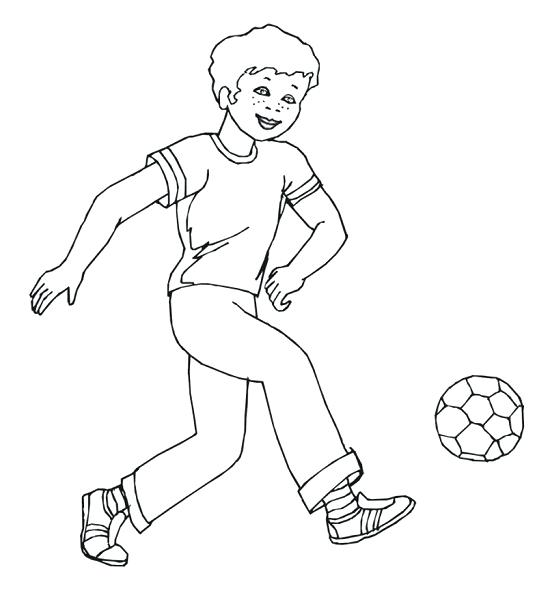 550x597 Soccer Players Coloring Pages Soccer Player Coloring Pages Soccer