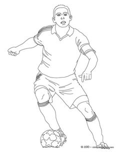 236x304 Soccer Player Scoring A Penalty Online Coloring Soccer Coloring