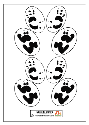 300x424 Wildlife Footprint Fun In Five Ways Footprints And Footprint Tattoo