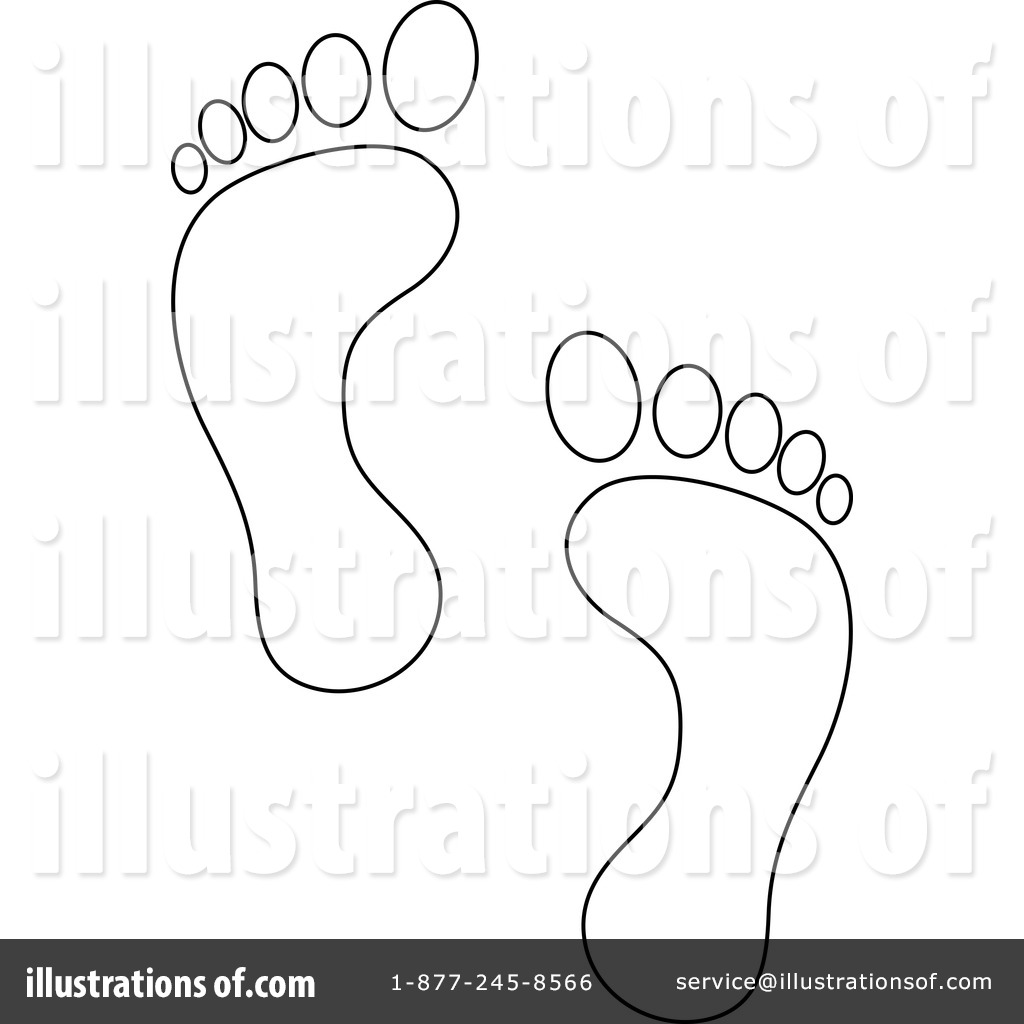 1024x1024 Footprints Clipart