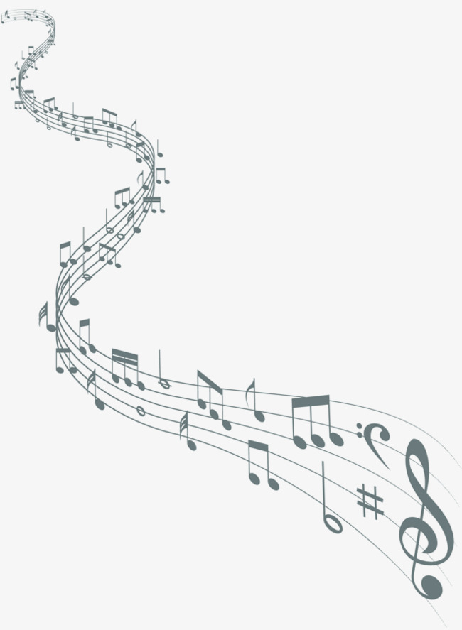 650x887 Music Music Decoration Material, Footsteps, Music, Meandering Png