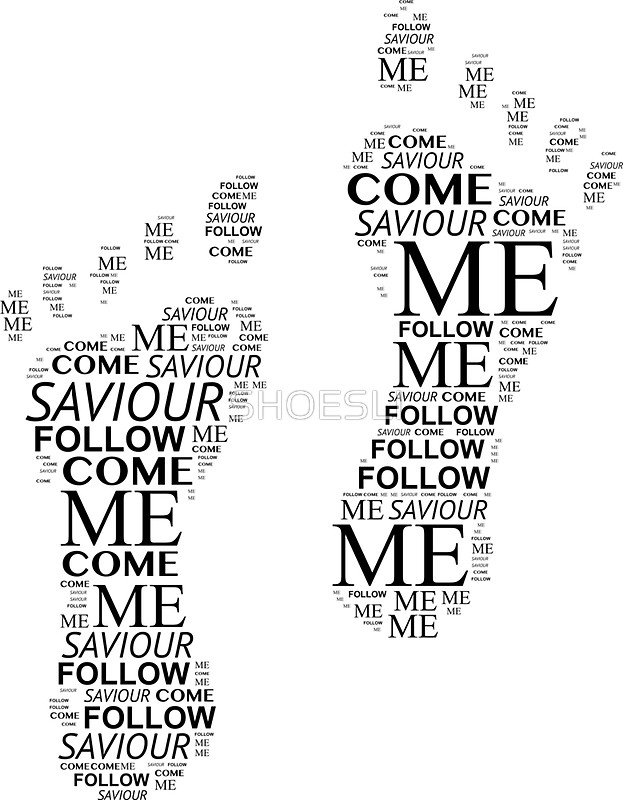 623x800 Come Follow Me Footsteps Stickers By Shoesli Redbubble