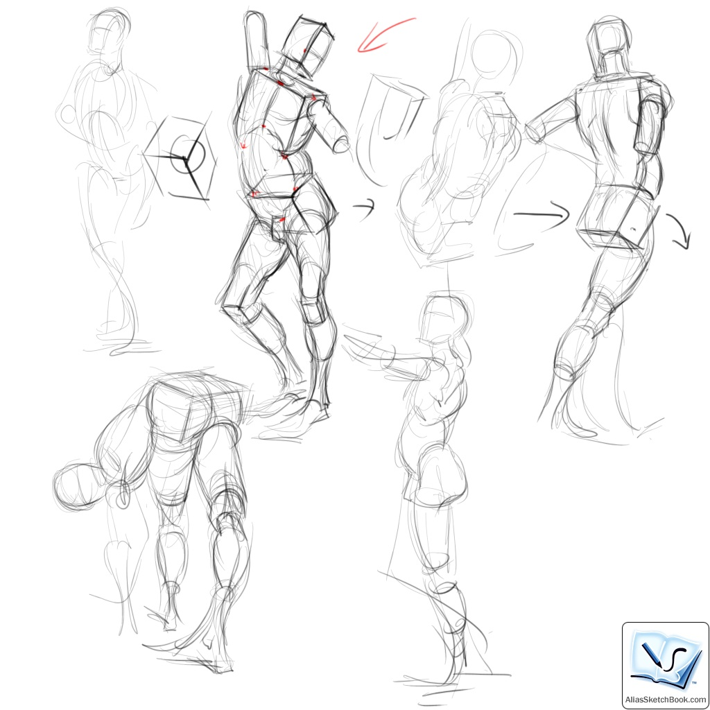 1024x1024 Drawing The Life Force Box Form Demos