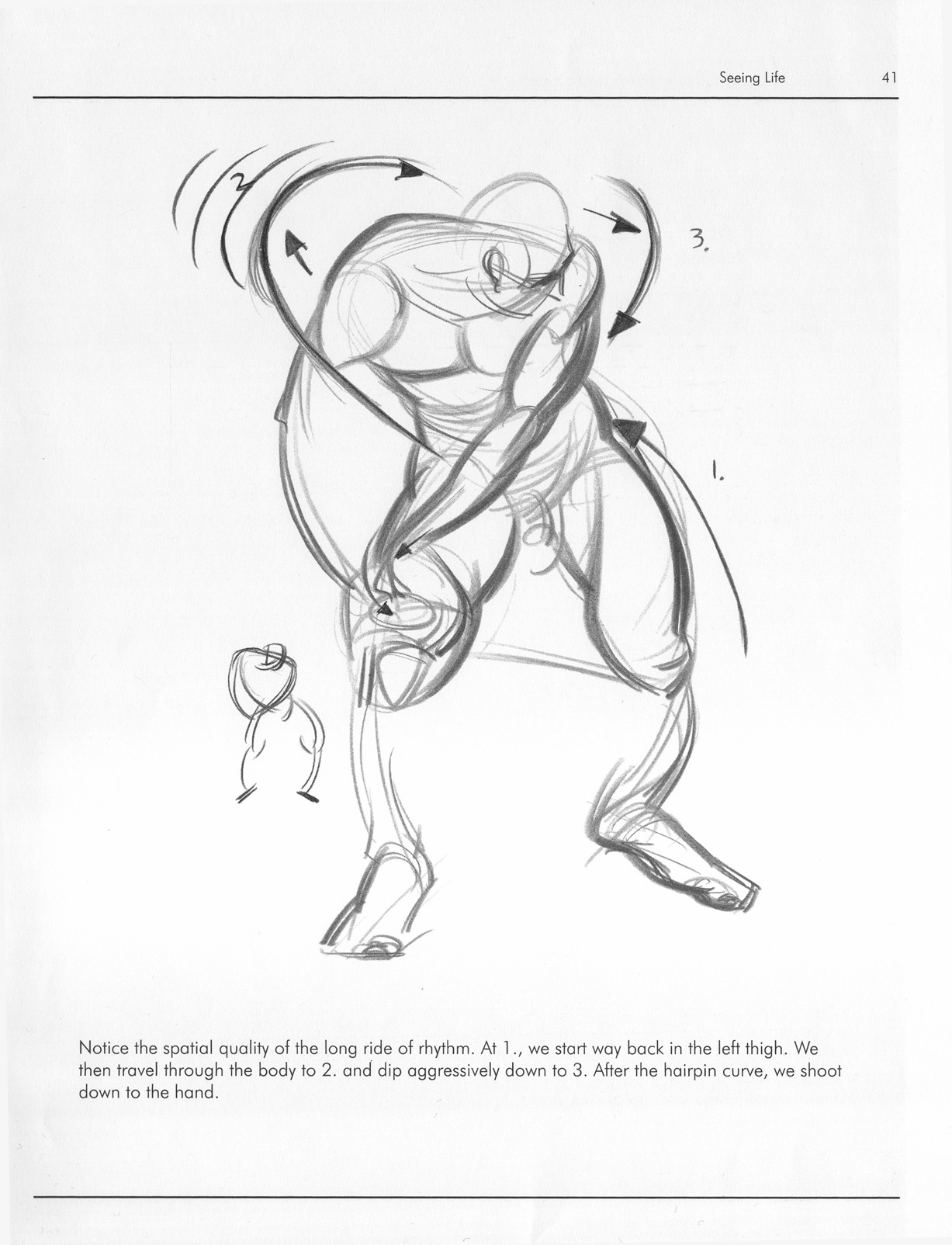 1227x1604 Force Dynamic Life Drawing For Animators
