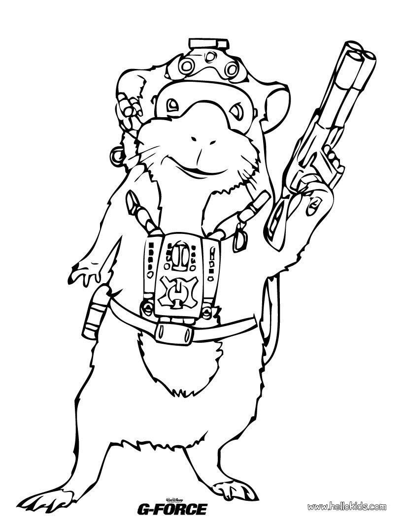 820x1060 Guinea Pig Coloring Pages, Daily Kids News, Reading Amp Learning