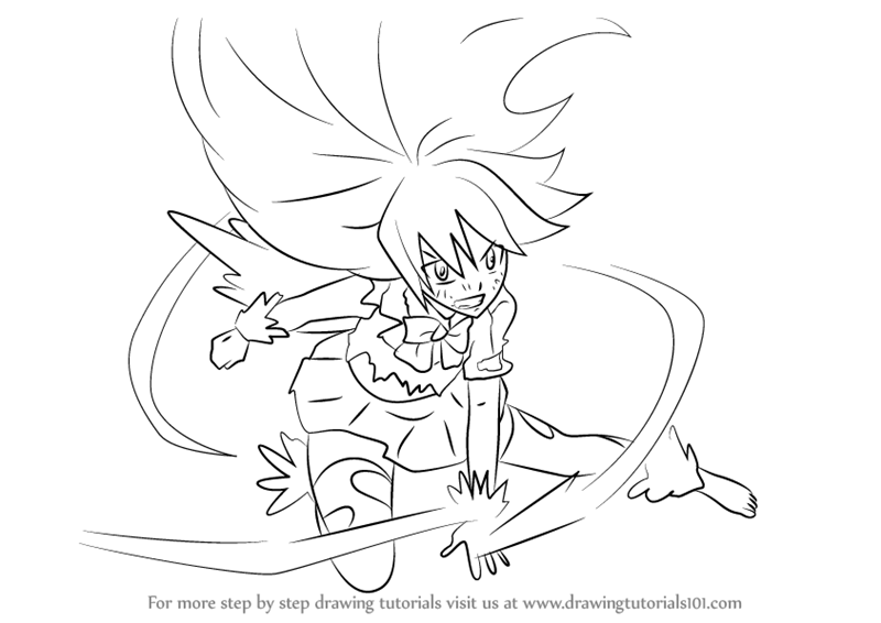 800x566 Learn How To Draw Wendy Marvell In Dragon Force From Fairy Tail